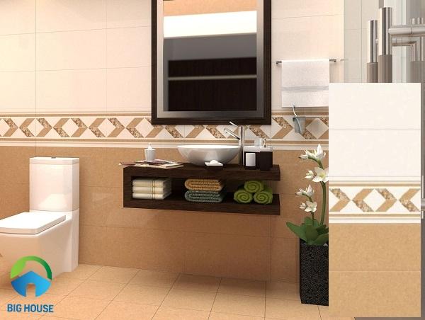 Bộ gạch ốp tường Monalisa 30x60 MS3610.11.12 tông màu nâu ấm áp