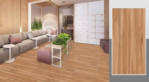 mẫu gạch vân gỗ ý mỹ P6125001C họa tiết vân gỗ sống động và chân thực