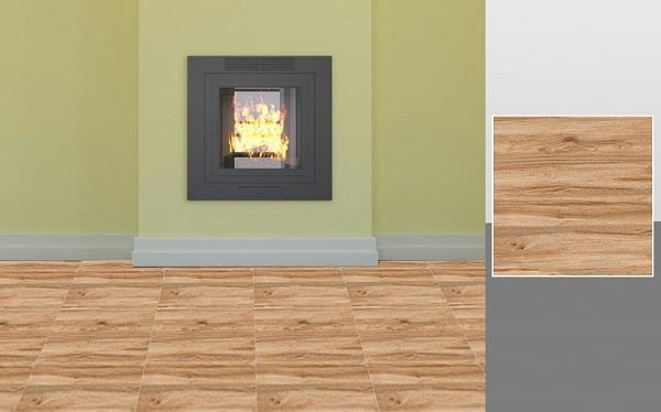 P85005C là mẫu gạch sở hữu họa tiết và màu sắc vân gỗ rất tự nhiên