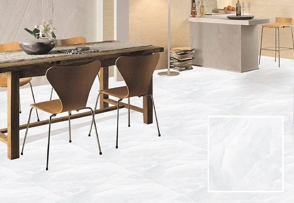 Ý Mỹ EN69005 là mẫu gạch lát nền granite 600x600 màu xanh vân đá