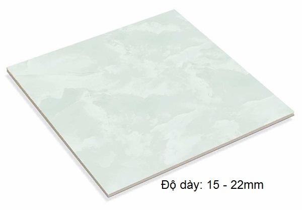 Chiều dày gạch granite 60x60 khoảng từ15mm - 22mm