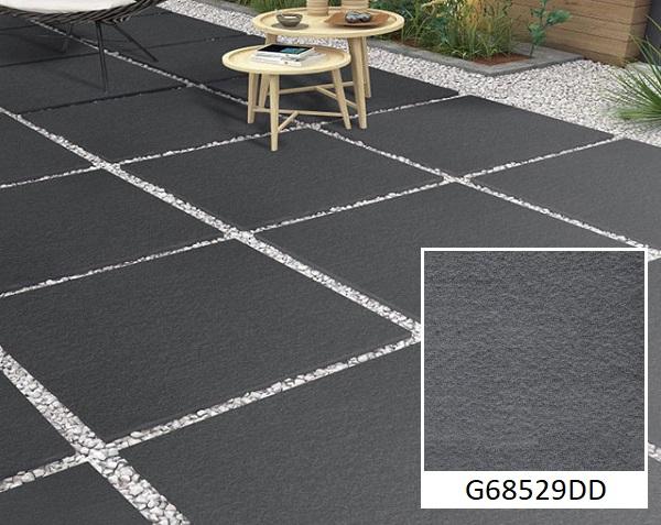 gạch granite chống trơn taicera G68529DD màu sắc xám đen hiện đại