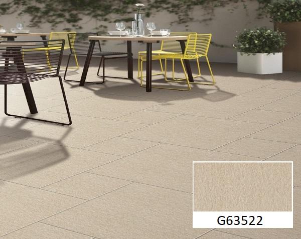 gạch granite chống trơn Taicera G63522 màu vàng cát bề mặt nhám chống trơn