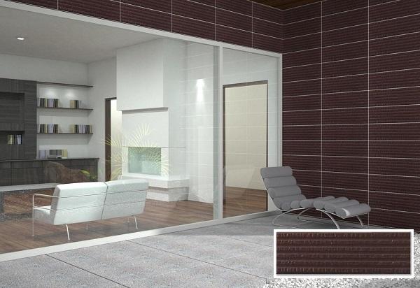 Gạch thẻ ốp tường màu nâu: Cách phân loại, ứng dụng và TOP mẫu đẹp