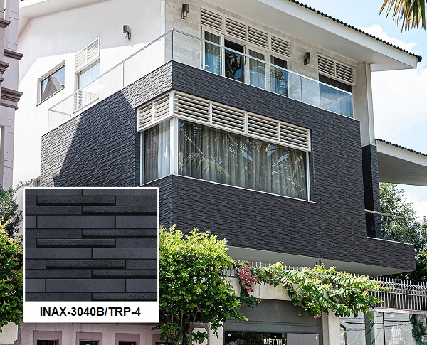 gạch thẻ ốp tường ngoại thất inax INAX-3040B/TRP-4