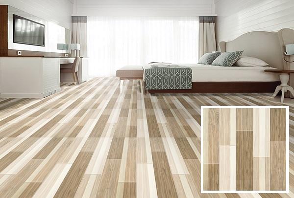 gạch lát nền 50x50 giả gỗ ý mỹ
