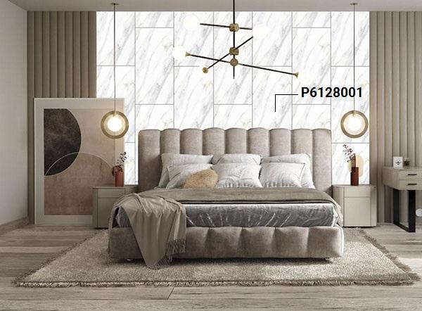 mẫu gạch ốp phòng ngủ đẹp giả đá