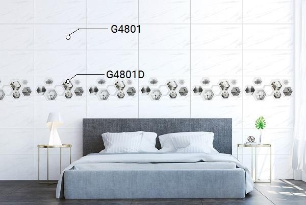 Mẫu gạch ốp tường phòng ngủ Ý Mỹ G4801