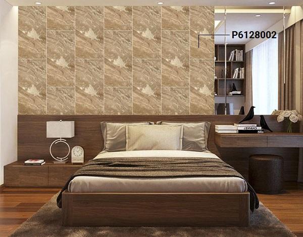 mẫu gạch ốp tường phòng ngủ giả đá đẹp