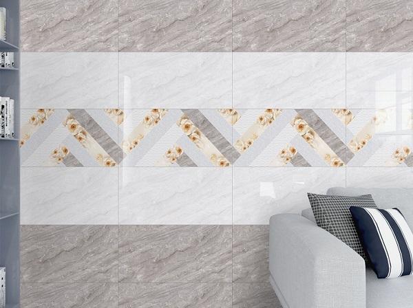 gạch ốp tường màu xám Ý Mỹ Y48004 họa tiết vân đá Onyx