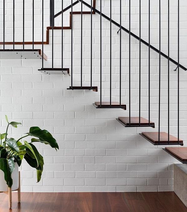 TOP Mẫu gạch ốp tường cầu thang Đẹp – Giá rẻ nhất hiện nay