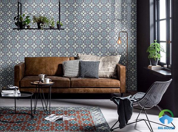30+ Mẫu gạch bông trang trí ốp tường Đẹp nhất 2021
