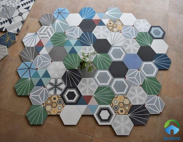 99 Mẫu gạch bông lục giác Đẹp – Đa dạng – Giá rẻ nhất 2021