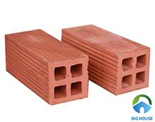Gạch xây 4 lỗ vuông