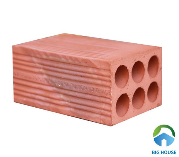 Gạch chống nóng có 6 lỗ tròn