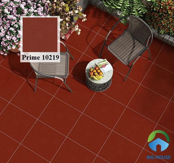 Mẫu gạch đỏ cotto Prime 10219 gam màu đỏ thẫm