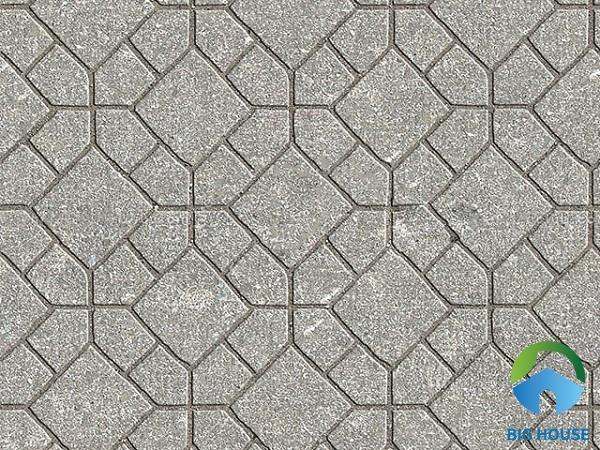 Map gạch lát vỉa hè Terrazzo bề mặt định hình