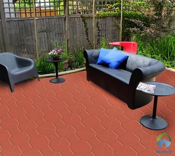 Mẫu gạch đỏ cotto Prime 7115 họa tiết định hình chống trơn cực tốt
