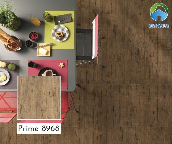 Mẫu gạch giả gỗ Prime 8968 họa tiết vân gỗ chân thực và tinh tế