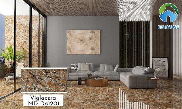 Gạch lát nền Viglacera MD D61201 họa tiết vân đá marble sang trọng