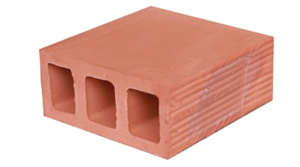 Gạch chống nóng mái bằng 3 lỗ kích thước 220x220x110 (mm), bền, đẹp, giá tốt