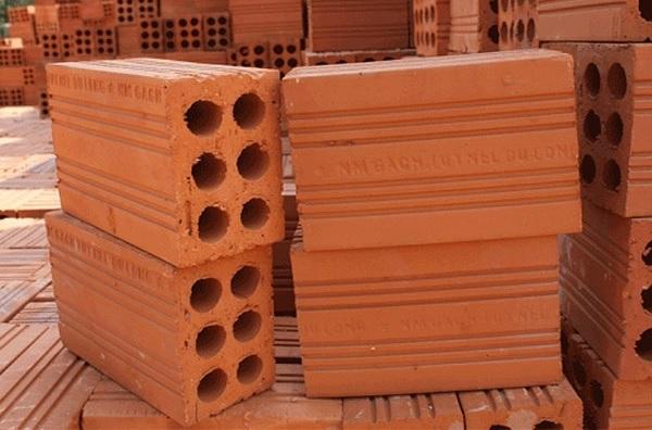 Mẫu gạch ống 6 lỗ có khả năng tản nhiệt, cách âm tốt cho mái nhà