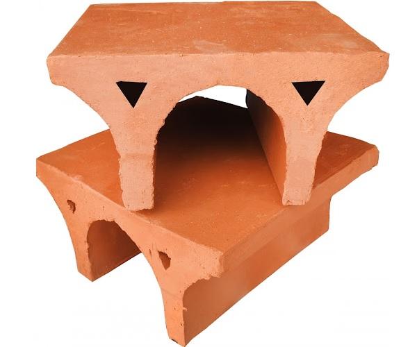 Gạch chữ U có thiết kế phần chân gạch hình chữ U. Loại gạch này còn có tên gọi khác là gạch ghế chống nóng